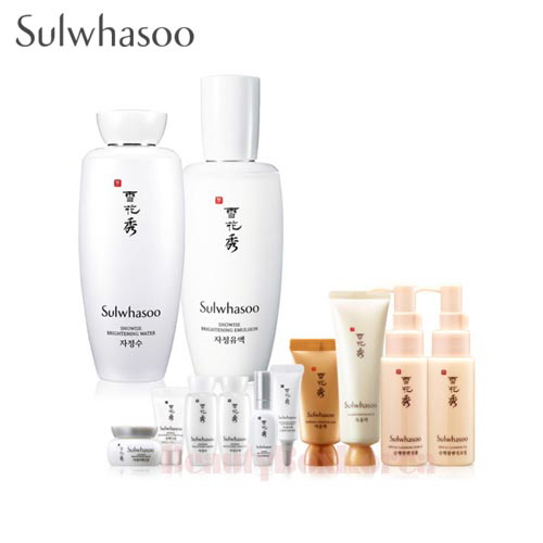 SULWHASOO Snowise Brightening Set 12items [Monthly Limited -APRIL 2018]